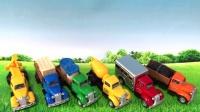 汽车总动员 趣味玩具 工程车 玩具车