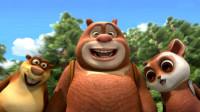 熊出没之熊熊乐园 熊大战胜向日葵第143期筱白解说