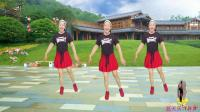 蓝天云广场舞  大众健身操《DJ爱你情歌》附教学口令 2017 09