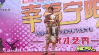 幸福宁阳人: 农村大妈爆笑演绎《歌在飞》20170909