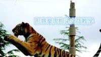 抱头冲撞敌人, 形意六象虎抱头如此凶猛, 难怪武林中号称硬打硬进