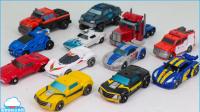 变形金刚 汽车人指挥官 迷你 宇宙霸权军团12辆汽车的机器人玩具【俊和他的玩具们