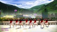 兰州蝶恋舞蹈队-最美的情缘8人版, 编舞: 応春梅, 制作: 蝶恋