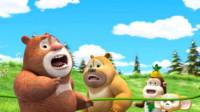 熊出没之熊熊乐园 熊大交警熊二大战猴子怪兽第151期筱白解说