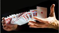 魔术教学: 扑克牌飞到另一只手, 手法很简单, 没理由不学!