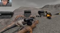 【野兽战斗模拟器】武装霸王龙!自爆军团!烧烤恐龙