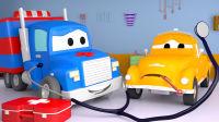超级变形卡车 第7集 变成救护车帮助生病的汤姆