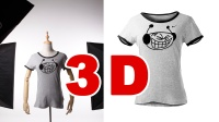 3D立体镂空服装拍摄大揭秘【小九摄影ECP】