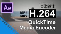 AE渲染输出mp4格式-mov格式【H.264视频编码讲解】