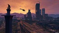 哇瑟美爆-GTAV超高画质欣赏-洛杉矶飞行之旅!