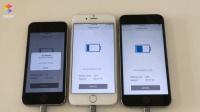 续航测试: iPhone5s、6、6s升级iOS11对比iOS10