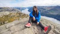 挑战挪威布道石!