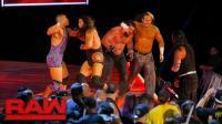 【RAW 09/18】六强争霸上演六人超级炸弹摔 杰森被米兹怒骂是私生子