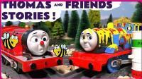 托马斯小火车的颜料桶撞车事故 小猪佩奇与小黄人清洗车厢工作 汪汪队立大功 小伶玩具