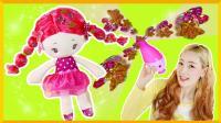 闪亮花片, 爱丽的头发上开出了美丽的小花 | 爱丽和故事 EllieAndStory
