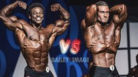 Chris Bumstead与Breon Ansley在2017古典健体的精彩对决