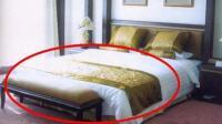 为什么酒店的床尾都要放一块布? 看完恍然大悟!