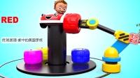 新美国学前教育幼儿英语启蒙 给宝宝汽车换轮胎学习8种颜色 家中的美国学校