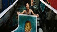 世界名画也能流水线生产? 他一天能画13幅梵高油画 209
