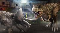 《侏罗纪世界恐龙第5期 食肉恐龙冠龙》儿童游戏 糯米解说