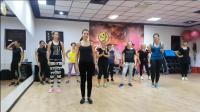 尊巴健身舞蹈, 跟着跳就能锻炼腹部, 瘦小腹只要三分钟!