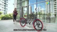 农民发明的减震器, 装在自行车轮上骑着比宝马还舒服