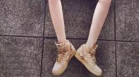 2017耐克Air Force 1 小麦高帮一双百搭的机车潮鞋
