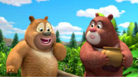 熊出没之熊熊乐园 雪岭熊风夺宝熊兵熊大可爱的熊二第163期筱白解说