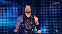 最新WWE毫不留情: 罗曼·雷恩斯VS约翰·塞纳, 终极大对决火爆