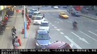 女子横穿马路, 监控记录下她生前的5秒 完全是自寻死路