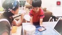 黄英与儿子为吃几个巧克力讨价还价, 小九儿太可爱了