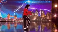 美国达人秀模仿Michael Jackson最强的3个选手, 评委都手舞足蹈!