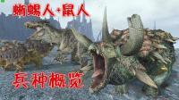 【阿姆西】恐龙大军VS鼠人大军: 蜥蜴人+鼠人兵种概览! 《战锤全面战争2》