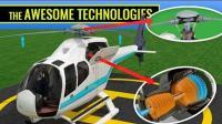 【3D演示】直升机是如何飞起来的(字幕版+原版)@机场字幕组