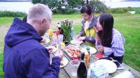 鲜花+鲜肉,和外国人来一场丹麦森林烧烤!