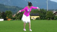 宇美广场舞原创《高原上的情歌》编舞:宇美