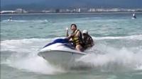 三亚——姐姐的摩托艇