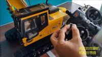 国外的远程遥控小松挖掘机模型, 是否也勾起你儿童时的梦想?