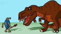 原创动画《恐龙的宿敌》第2集:小怪物的身世
