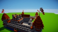 minecraft创意设计: 实况制作欧式城堡