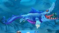 【肉肉】饥饿鲨鱼游戏世界176#释放沧龙王!