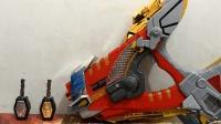 『疾风效应』魔弹战记龙剑道 龙枪王DX钢龙枪变身器 魔弹钥匙Takara