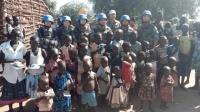 大二女生参军赴非洲维和 获联合国勋章