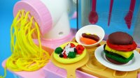 北美玩具全集日本食玩 面条做面包