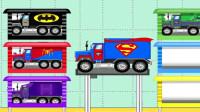 超人大卡车小游戏 蜘蛛侠奇趣蛋变形卡车 蝙蝠侠奇趣蛋变形卡车