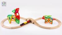 百变磁力片 梅花鹿小白兔的故事 儿童玩具 亲子游戏 创客教育 佩奇合家欢早教益智启蒙手工搭建