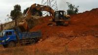 儿童玩具 挖掘机大卡车工程车 挖掘机工作视频表演大全 挖机挖土视频小猪佩奇益智玩具