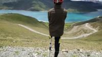 小伙单腿骑行征服2800公里新藏公路