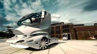 全球最贵的房车, 采用飞机制造技术, 一年只造5辆, 车上镶满钻石