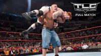【TLC大赛 2009】塞纳欲将希莫斯上绳翻摔 意图失败自己反倒暴桌
